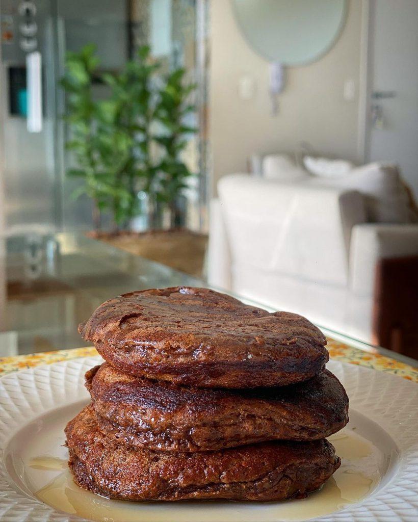 Panqueca de Chocolate Proteica