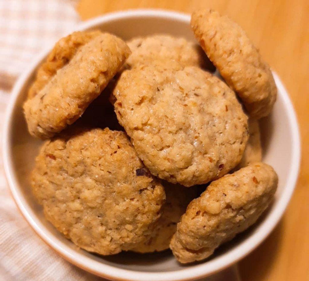 Cookie Vegano sem Glúten - Raiana Queiroz - Feito com Zaya