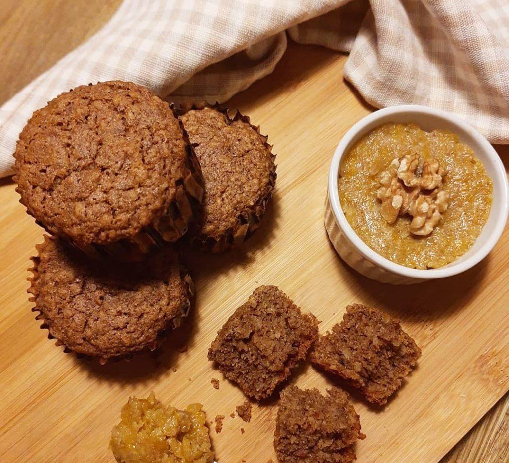 Muffins sem Glúten - Sem Lactose - Raiane Queiroz - Feito com Zaya