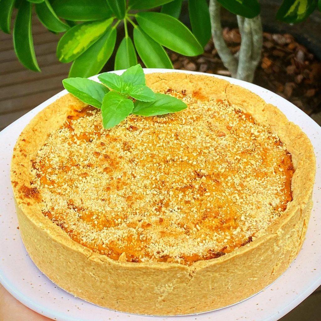 Torta Cremosa de Frango sem Glúten - Feito com Mix para Tortas