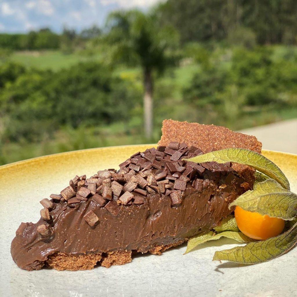 Torta de Brigadeiro sem Glúten - Maria Clara - Feito com Mix para Tortas