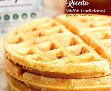 Waffle Tradicional sem glúten - Nai Rochet - Feito com farinha Zaya
