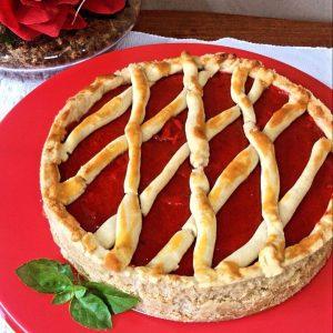 Torta de Morango sem glúten - Lulu Brito - Feito com farinha Zaya